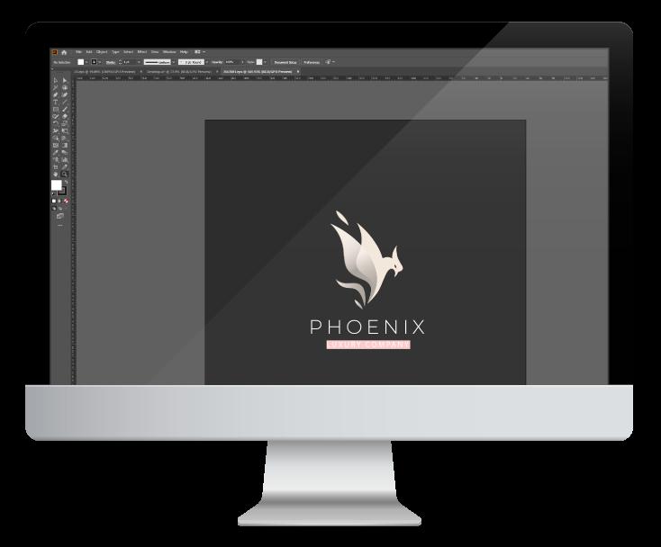 Realizare grafica in Illustrator pe desktop