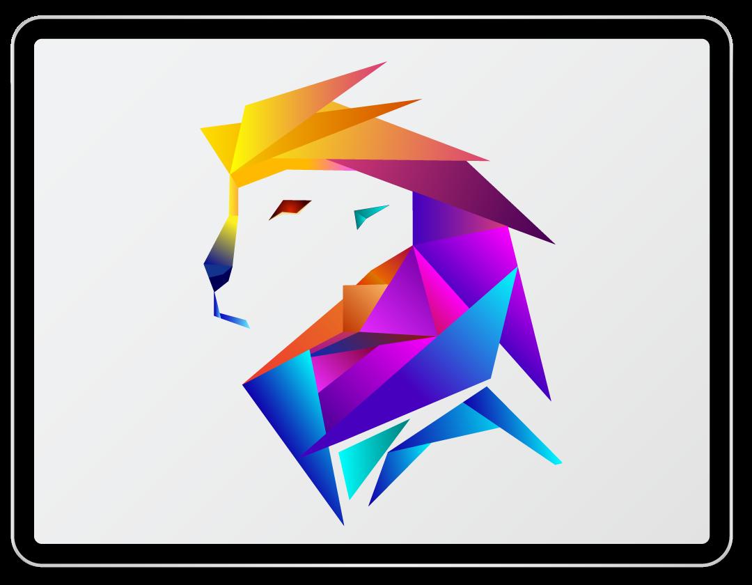 Imaginea ilustreaza logo-ul companiei Wallart Design.