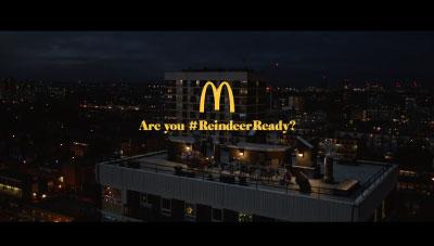 Campania Mcdonald`s de Craciun - Are you Reindeer Ready